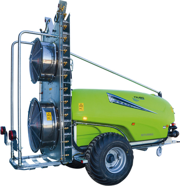Sprayer Bi-Turbo