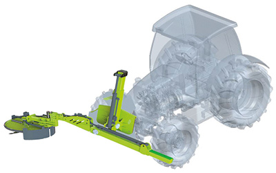 Tractor Eco disk ped